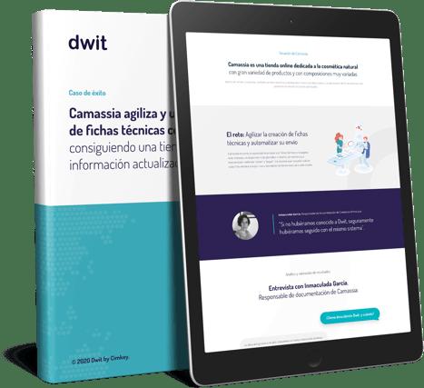 Camassia Eco consigue agilizar y unificar la creación de fichas técnicas y documentos comerciales corporativos con Dwit 1